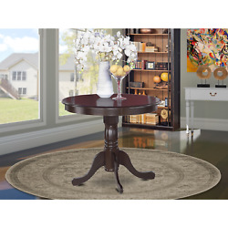 Farmhouse Dining Table Round French Country Rustic Kitchen Cottage Antique New