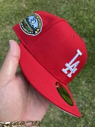 Jae Tips New Era Los Angeles Dodgers Patch Exclusive Fitted Not Hat Club 7 1/2
