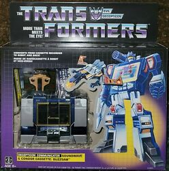 🔥🔥hasbro Transformers Soundwave More Than Meets The Eye Brand New