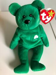 Ty Beanie Baby Erin The Bear Rare 1997 Tag Errors Mint Condition