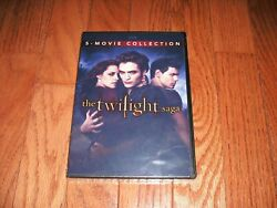 Brand New. Twilight Complete Set Of 5 On Dvd. 1, 2, 3, Breaking Dawn Part 1 And 2