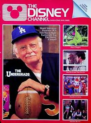 Vintage 1985 May The Disney Channel Magazine The Undergrads D13a0892