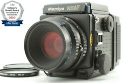 【top Mint Lens And N Mint Body】 Mamiya Rz67 Pro Sekor Z 110mm F/2.8 W Fromjpn 1521