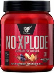 Bsn N.o.xplode Pre-workout Energy No Pump 30 Servings. Free Shipping