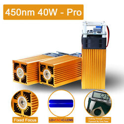 Laser Module Laser Head Used For Laser Engraving And Laser Cutting 450nm 40w