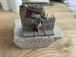 Banksy Defeated Souvenir Wall Sculpture Walled Off Hotel