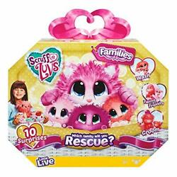 Little Live Pets Scruff-a-luvs Family   Wash, Dry And Brush To Rescue And