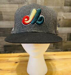 Size 8 Exclusive Montreal Expos New Era 59fifty Hat 35th Anniversary