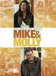 Mike And Molly The Complete Series - Seasons 1-6 Dvd 2016 17-disc Set