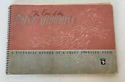 Original Issue Epic Of The 101st Airborne Ww2 Unit History Pictorial Book