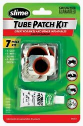 Slime Tube Patch Kit 7 Pc For Bikes Other Inflatables Repair Puncture 1022-a New