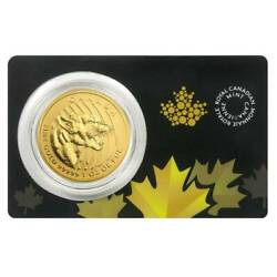 2015 Canada Gold 1oz. Growling Cougar .99999 Pure In Assay