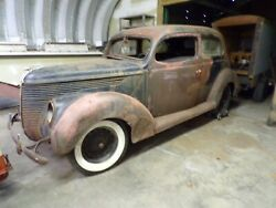 1938 Ford Project Car Complete Body Including V8 Flathead Engine
