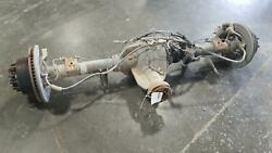 13-16 Ford F250sd Rear Axle Assembly 3.55gear Electric Lock Srw W/abs/disc