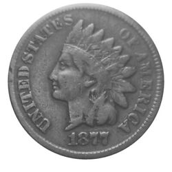 Indian Head Cent/penny 1877 Key Date Liberty