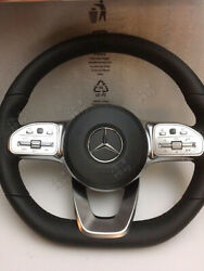 Mercedes Amg-package Steering Wheel For Pre-facelift Mb With Retrofit Adapter