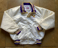 Vintage Hunter College Hawks N.y. City Double Sided Lined Satin Jacket Adult 2xl