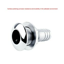 Steel Yacht Drain Vent Water Yachts 316 Stainless Bilge Hull Of Outlet New