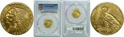 1908 2.50 Gold Coin Pcgs Ms-64+