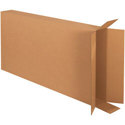 28 X 6 X 52 Side Loading Boxes Brown 50 Pieces