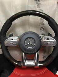 Mercedes Amg Steering Wheel -polar Wood- For Pre-facelift Models With Adapter