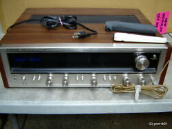 Vintage Pioneer Sx-636 Stereo Receiver With Sony Mic. F-96 . . . Nice