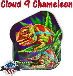 Cloud 9 Chameleon 3D Premium Rolling Tray 3D Magnetic Lid Decal Included