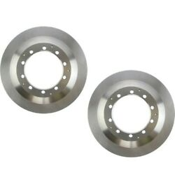 Set-ce12167078-2 Centric Brake Discs 2-wheel Set New Extended Cab Pickup Lh And Rh