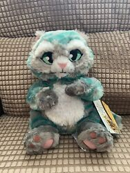 Disney Store Cheshire Cat Alice In Wonderland Live Action Soft Plush Toy Nwt