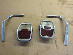 1961 62 63 Chevrolet Nova Chevy Ii Convertible Rear Tail Lamps Light And Trim