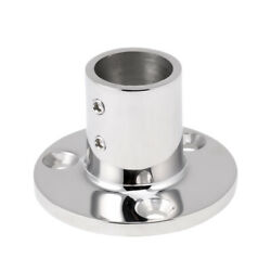 Boat Rail Fitting Stanchion Base Mount 90° For 25mm Tube Boat Parts Accessories