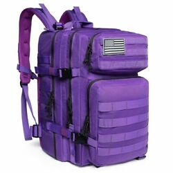 50l Man/women Hiking Trekking Bag Military Molle Bug Out Bag L Camping Backpack