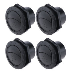 Pack Of 4 Dashboard Air Conditioning Deflector Outlet Side Roof Vent For Car Rv