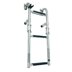 2 + 1-step Boat Ladder Foldable Telescopic Float Made Of Stainless Steel Floats
