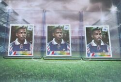 3 X Panini France 98 ► Thierry Henry 172 Rookie Rc Sticker Wc 1998 Invest Psa
