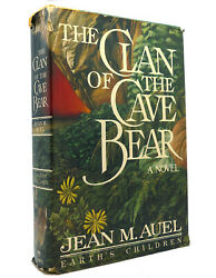 Jean M. Auel The Clan Of The Cave Bear 1st Edition 1st Printing