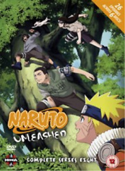 Naruto Unleashed The Complete Series 8 Uk Import Dvd [region 2] New