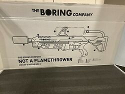 Not-a-flamethrower The Boring Company And Fire Extinguisher