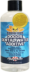 Premium Dog Breath Freshener Water Additive For Dental Care   Supports Healthy  