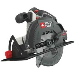 Porter-cable 20-volt Max Cordless 6-1/2 In. Circular Saw Tool-only