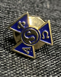 Alpha Phi Omega National Service Fraternity Initiation Pin