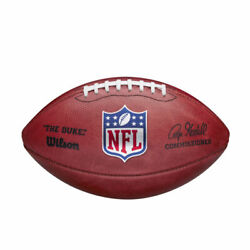 Nfl Official 2020 Authentic Leather Game Football Boxed By Wilson