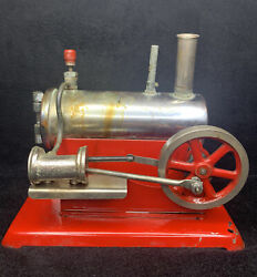 Rare Vintage Empire Metal Ware Corp Electric Steam Engine B43 - 1930s Or 1950's