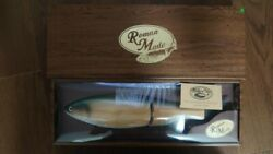 Roman Made Mother Chaser Natural Wood Wood Green Handmade Lure New Jp