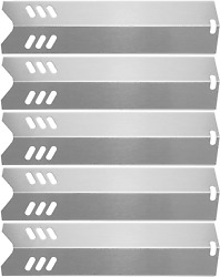 Hisencn 15 Stainless Steel Bbq Gas Grill Heat Plate Shield Tent For Backyard By