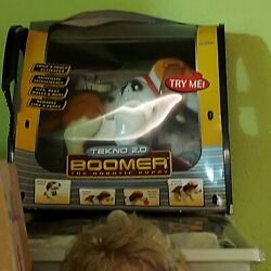 Boomer The Robotic Interactive Puppy Dog Tekno 2.0 Robot - New In The Box