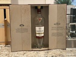 Macallan Whisky Bottle And Body Empty