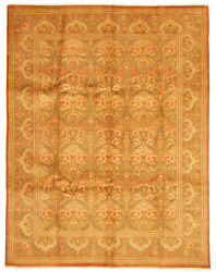 Hand-knotted Carpet 8'0 X 10'4 Double Knot Traditional Wool Rug