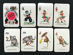 Mini Vintage Schwarzer Peter Old Maid Black Peter Cat Playing Cards Game Germany