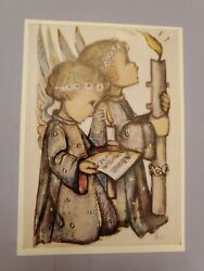 Vintage Hummel Postcard 5504 Holy Communion . Hard To Find. Religious